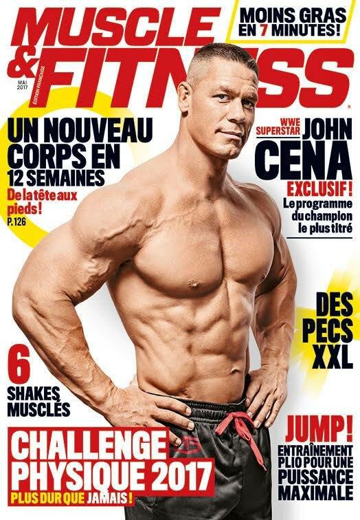 couv muscle fitness john cena