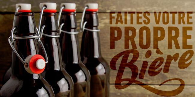 Faites votre propre bière