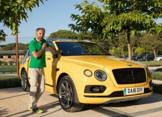 Test Bentley Bentayga